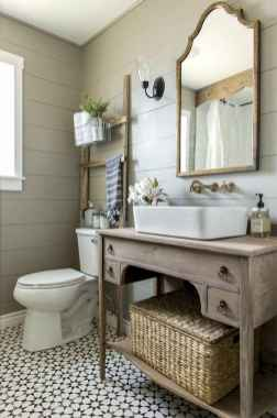 150 Amazing Small Farmhouse Bathroom Decor Ideas And Remoddel (126)