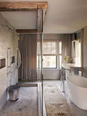 150 Amazing Small Farmhouse Bathroom Decor Ideas And Remoddel (50)