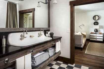 150 Amazing Small Farmhouse Bathroom Decor Ideas And Remoddel (85)