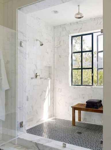 150 Awesome Farmhouse Bathroom Tile Floor Decor Ideas And Remodel To Inspire Your Bathroom (64)