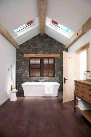 150 Awesome Farmhouse Bathroom Tile Floor Decor Ideas And Remodel To Inspire Your Bathroom (79)