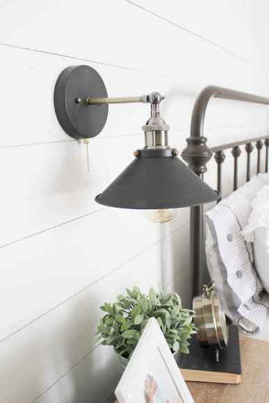 40 Lighting For Farmhouse Bedroom Decor Ideas And Design (28)