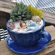 50 DIY Summer Garden Teacup Fairy Garden Ideas (17)