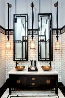 50 Lighting For Farmhouse Bathroom Ideas Decorating And Remodel (34)
