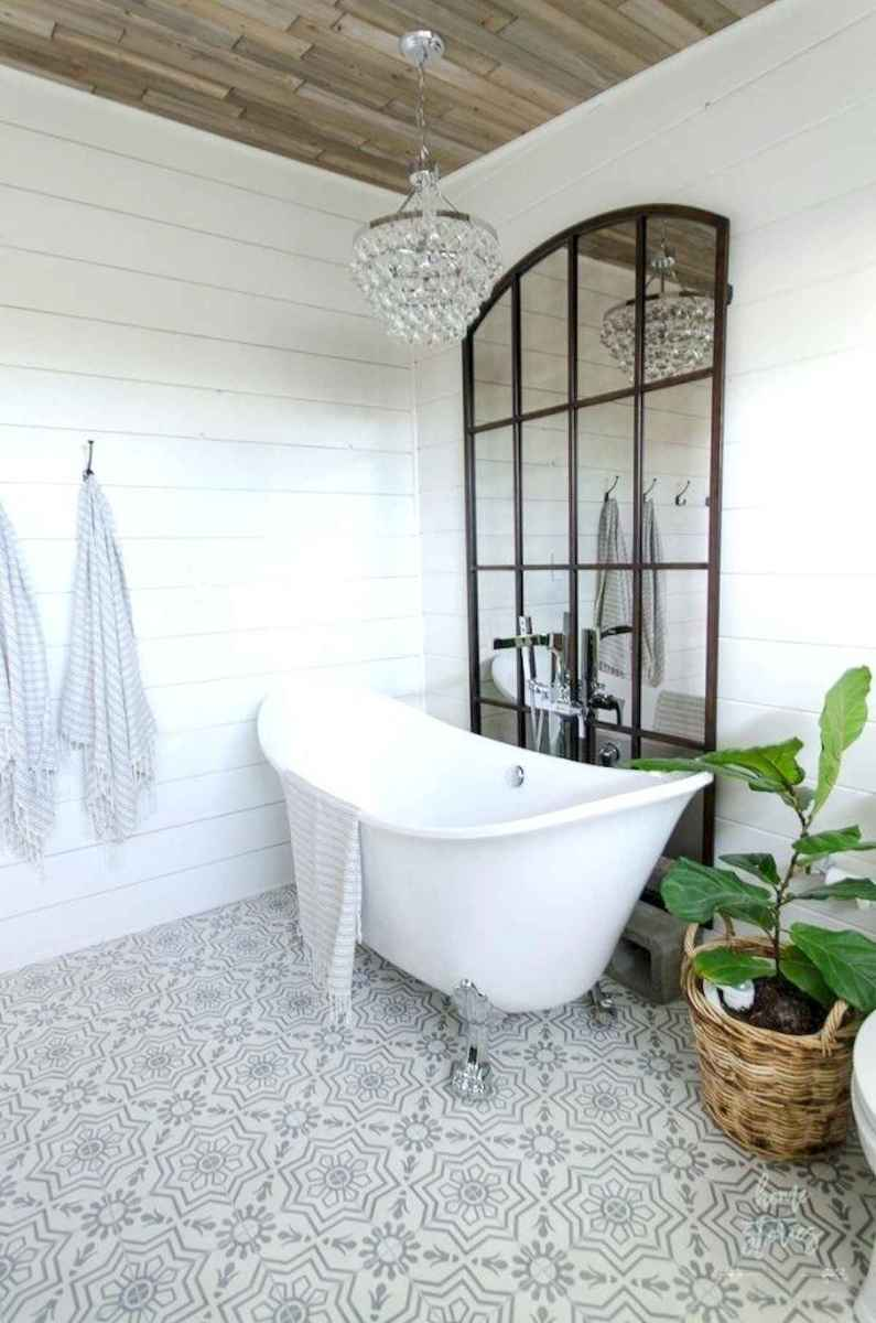 50 Lighting For Farmhouse Bathroom Ideas Decorating And Remodel (38)