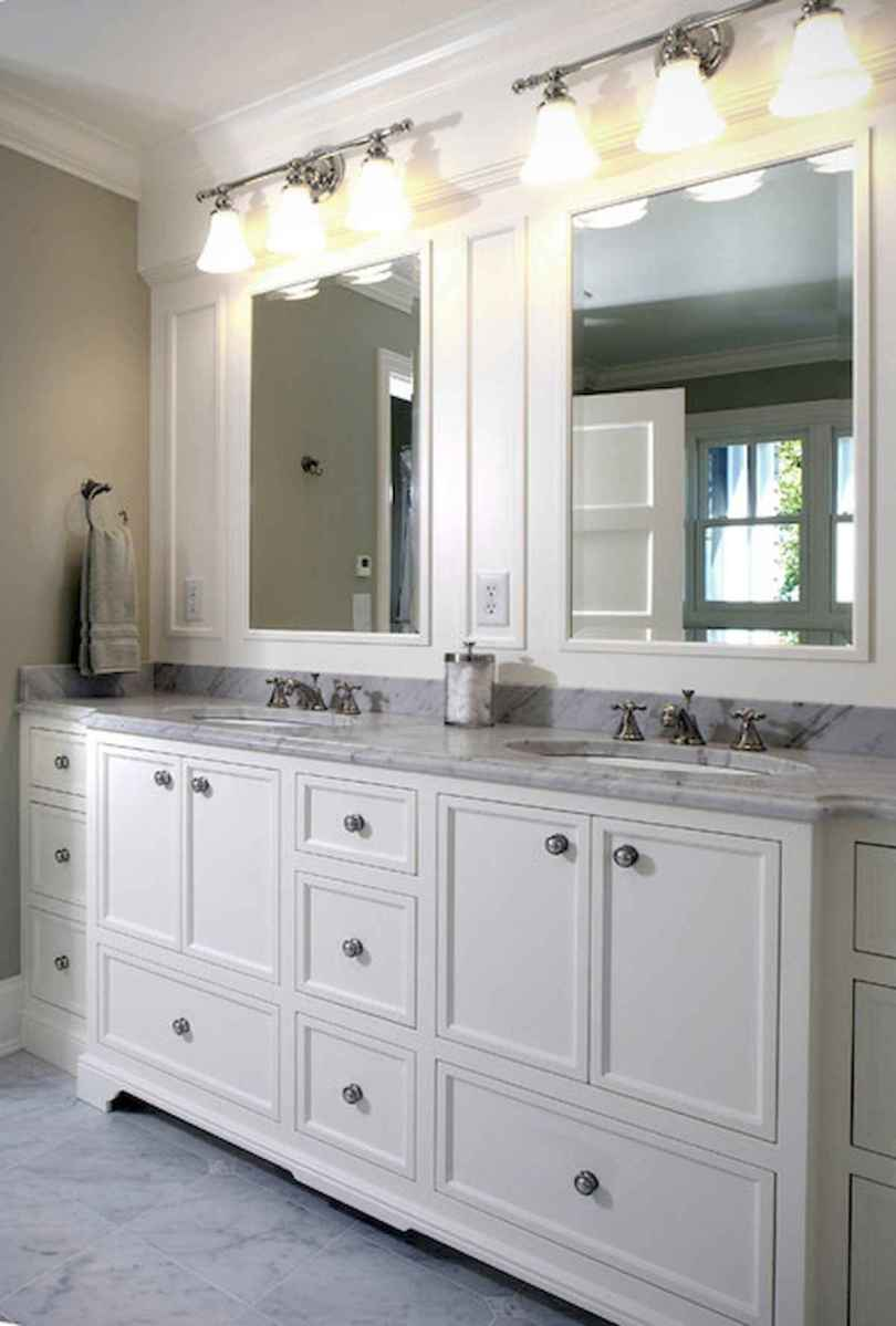 50 Lighting For Farmhouse Bathroom Ideas Decorating And Remodel (43)