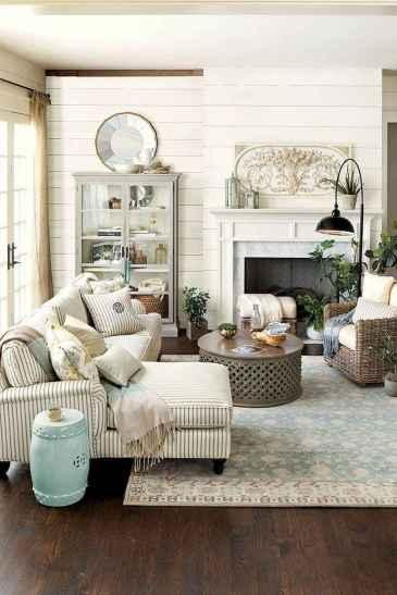 60 Farmhouse Living Room Lighting Ideas Decor And Design (21)