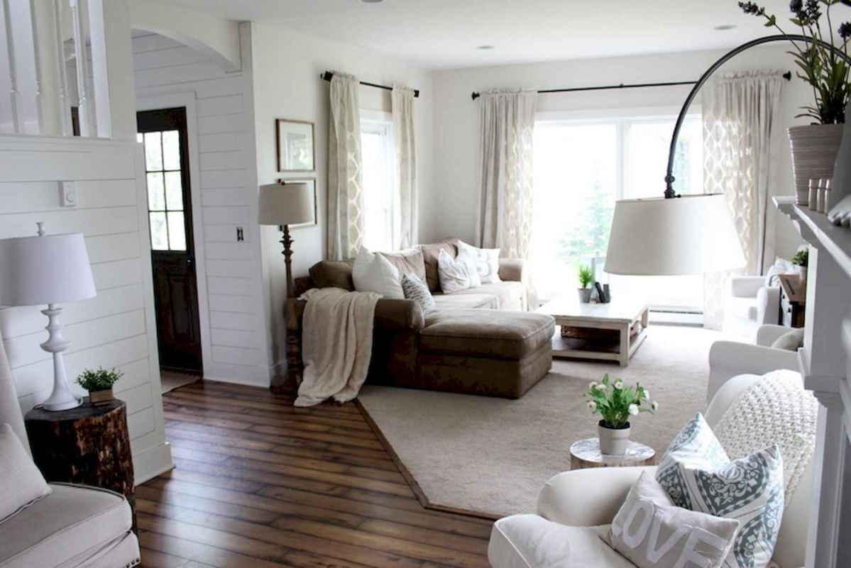 60 Farmhouse Living Room Lighting Ideas Decor And Design (45)