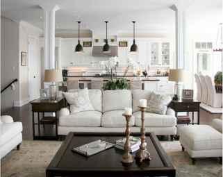 60 Farmhouse Living Room Lighting Ideas Decor And Design (48)