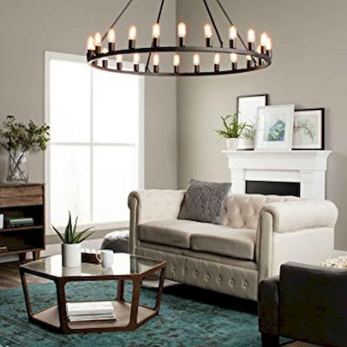 60 Farmhouse Living Room Lighting Ideas Decor And Design (8)