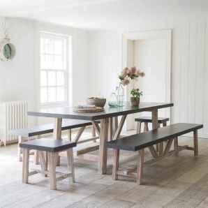 60 Modern Farmhouse Dining Room Table Ideas Decor And Makeover (20)