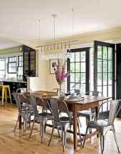 60 Modern Farmhouse Dining Room Table Ideas Decor And Makeover (32)