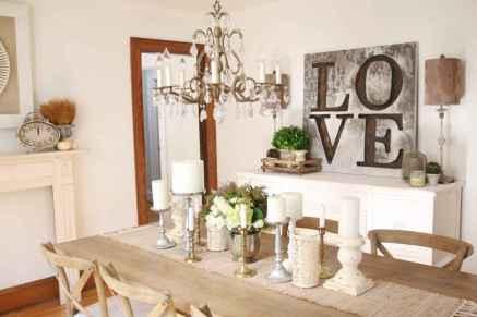 60 Modern Farmhouse Dining Room Table Ideas Decor And Makeover (38)
