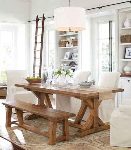 60 Modern Farmhouse Dining Room Table Ideas Decor And Makeover (53)