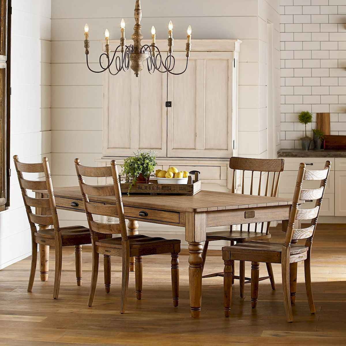 Furnitures Fashion Small Dining Room Furniture Design: 60 Modern Farmhouse Dining Room Table Ideas Decor And