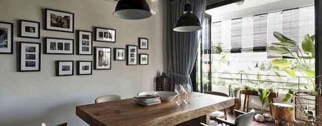 70 Farmhouse Dining Room Lighting Decor Ideas And Design (39)