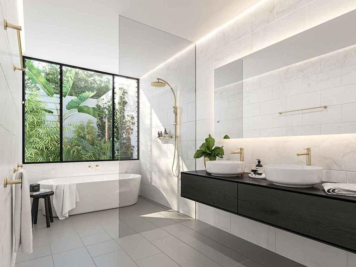 80 Awesome Farmhouse Master Bathroom Decor Ideas And Remodel