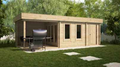 90 Beautiful Summer House Design Ideas And Makeover (79)