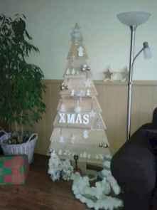 30 Rustic And Vintage Christmas Tree Decor Ideas (18)