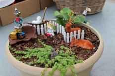 45 Beautiful Christmas Fairy Garden Decor Ideas (25)