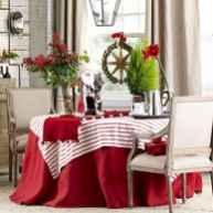 50 Stunning Christmas Table Dining Rooms Decor Ideas (2)