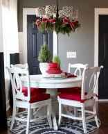 50 Stunning Christmas Table Dining Rooms Decor Ideas (4)