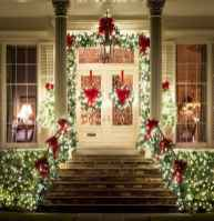 50 Stunning Front Porch Christmas Lights Decor Ideas (15)