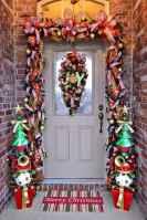 50 Stunning Front Porch Christmas Lights Decor Ideas (16)