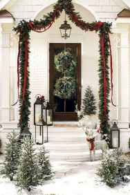 50 Stunning Front Porch Christmas Lights Decor Ideas (18)