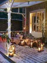 50 Stunning Front Porch Christmas Lights Decor Ideas (21)