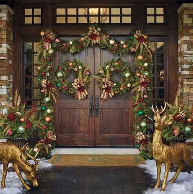 50 stunning front porch christmas lights decor ideas 25