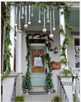 50 Stunning Front Porch Christmas Lights Decor Ideas (40)