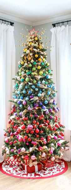 60 Awesome Christmas Tree Decor Ideas (52)