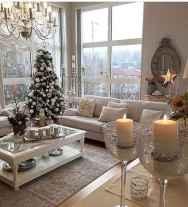 60 Simple Living Room Christmas Decor Ideas (4)