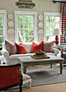 60 Simple Living Room Christmas Decor Ideas (44)