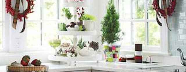 20 Best Christmas Kitchen Decor Ideas And Makeover (13)