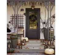 22 Chilling and Creative Halloween Porch Decorations (3)