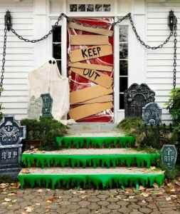 25 Creative Halloween Door Decorations for 2018 (25)
