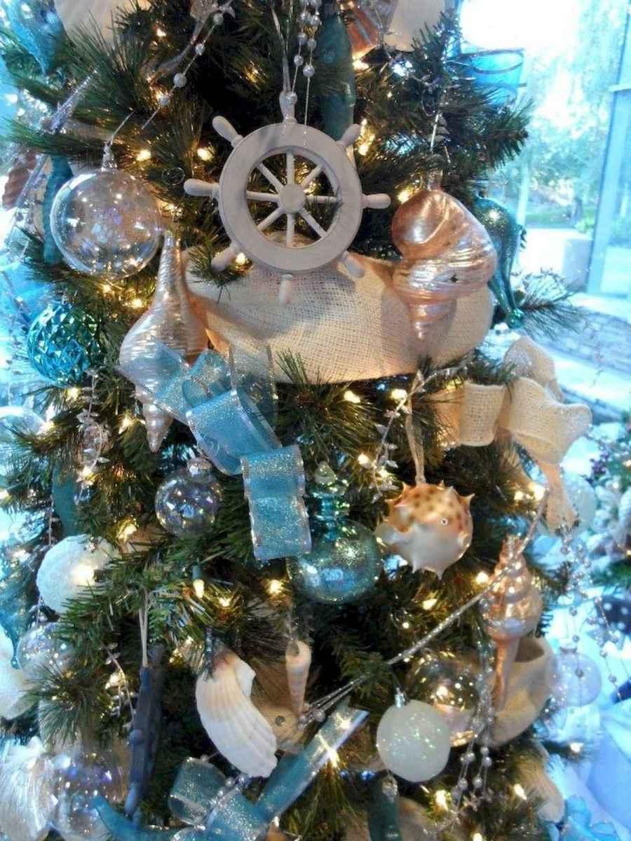 40 Coastal Christmas Decor Ideas And Makeover (12)