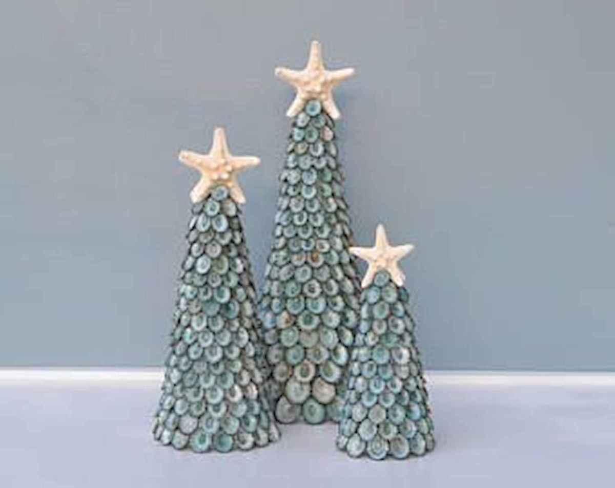 40 Coastal Christmas Decor Ideas And Makeover (18)