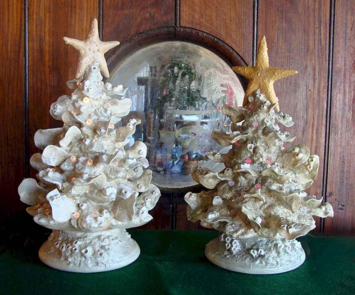 40 Coastal Christmas Decor Ideas And Makeover (35)