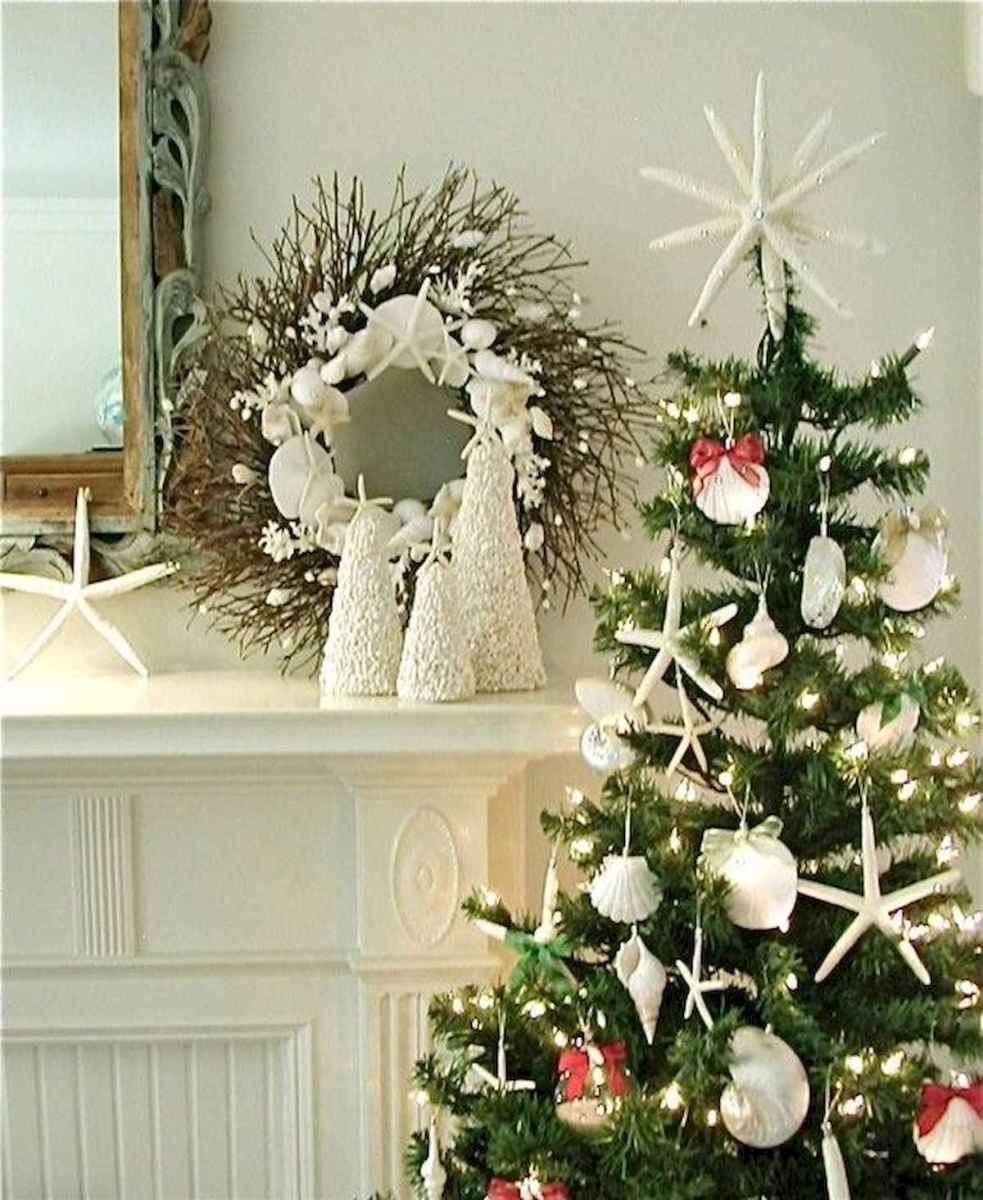 40 Coastal Christmas Decor Ideas And Makeover (40)