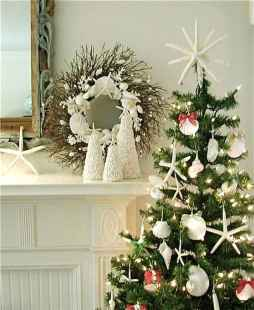 40 Coastal Christmas Decor Ideas And Makeover (40)