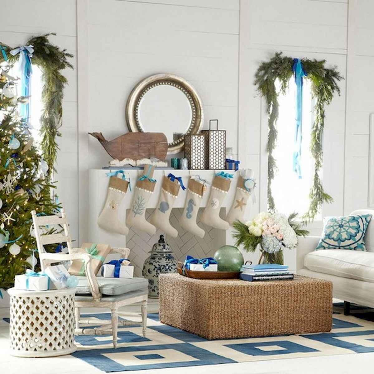 40 Coastal Christmas Decor Ideas And Makeover (6)