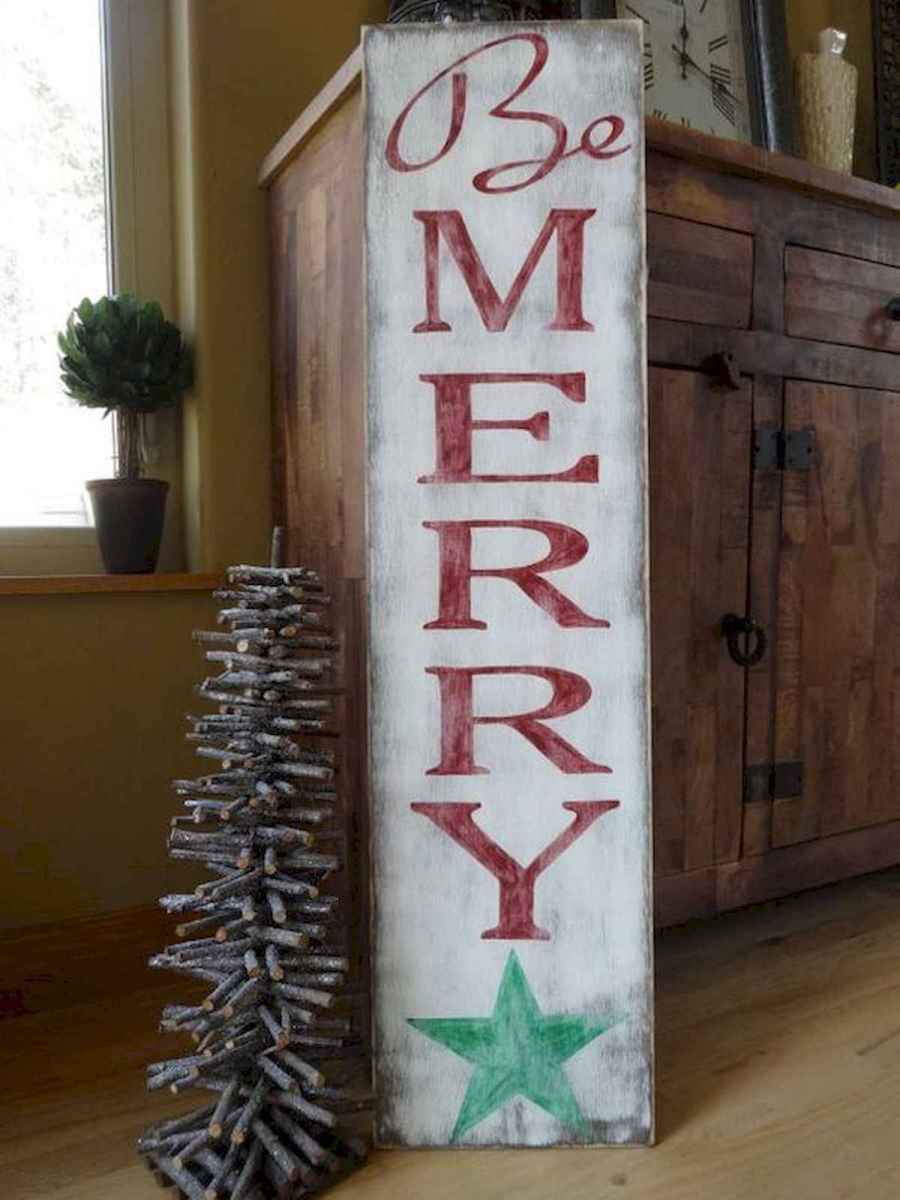 50 Awesome Christmas Front Porch Decor Ideas And Design (34)
