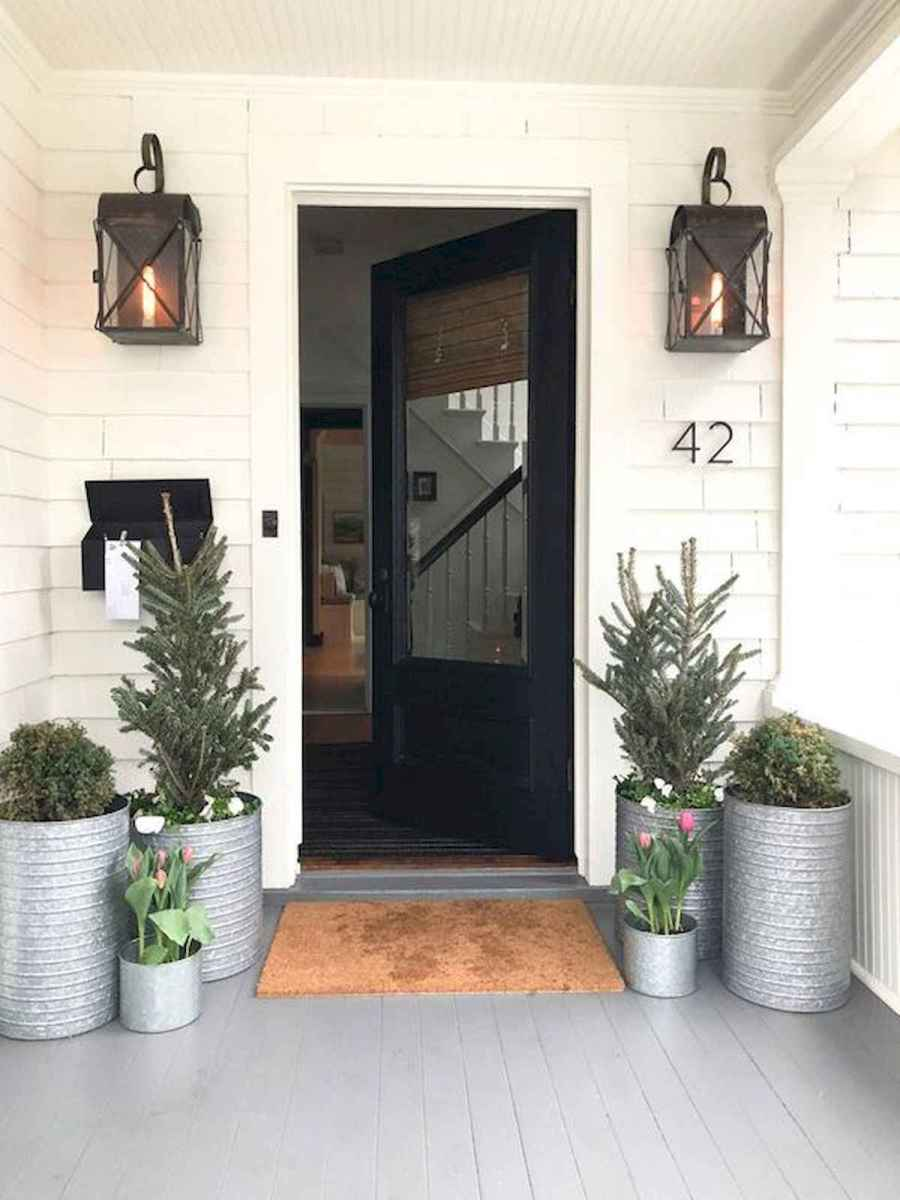 50 Awesome Christmas Front Porch Decor Ideas And Design (7)