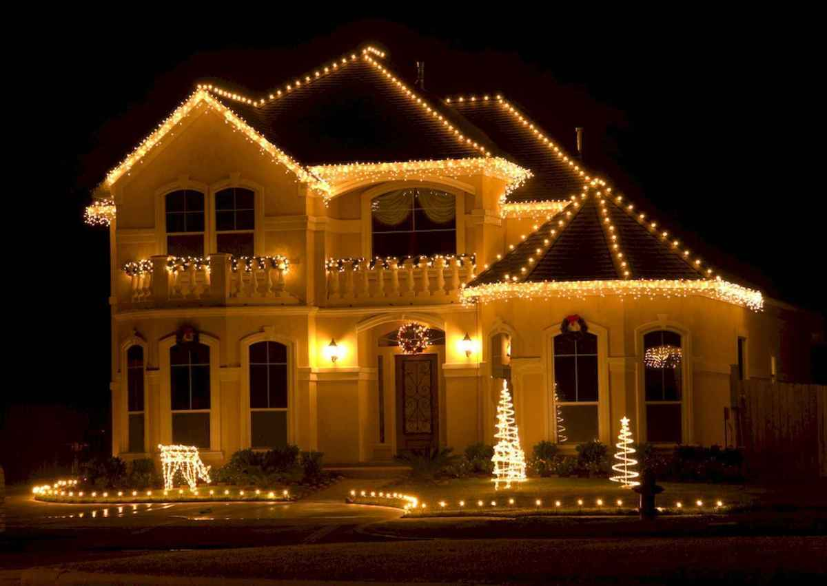 50 Awesome Outdoor Christmas Decor Ideas And Makeover (46)