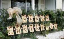 50 Awesome Outdoor Christmas Decor Ideas And Makeover (47)
