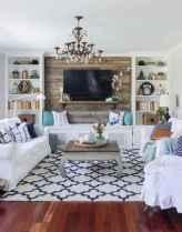 50 Best Rug Living Room Farmhouse Decor Ideas (24)