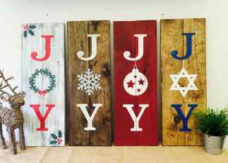 50 Christmas Front Porch Decor Ideas And Makeover (14)